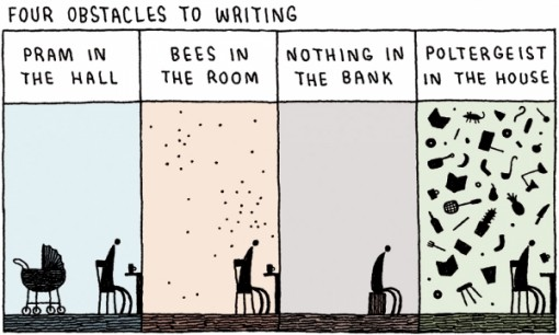 Writer's Block by Tom Gauld