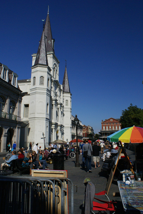 St. Louis Cathedral at Jackson Square, New Orleans