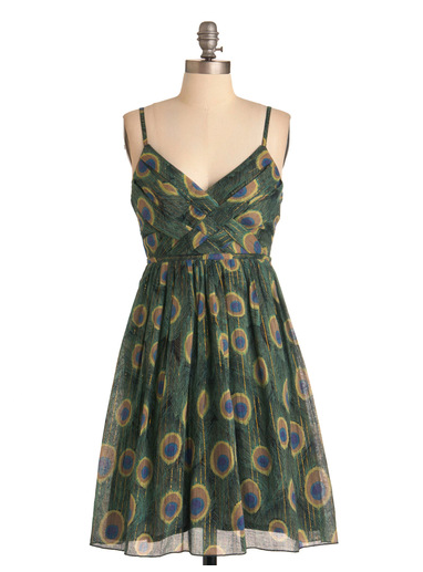 ModCloth - Sweet Peacock Dress