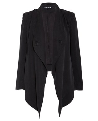 Drape Tencel Jacket from YouHeShe