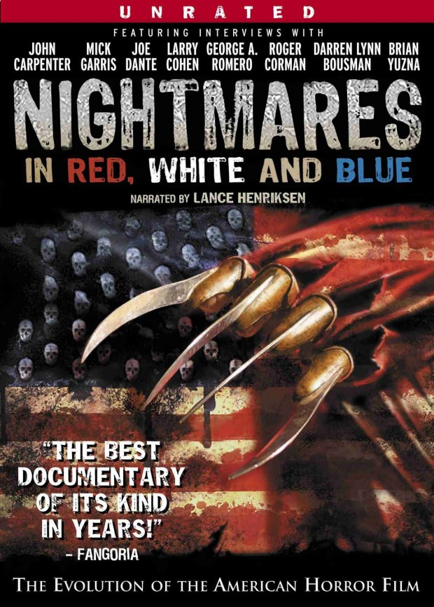 Nightmares in Red White and Blue Movie Poster
