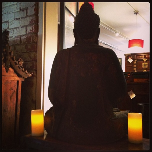 Buddha Silhouette, Silk Road Collection, New Orleans