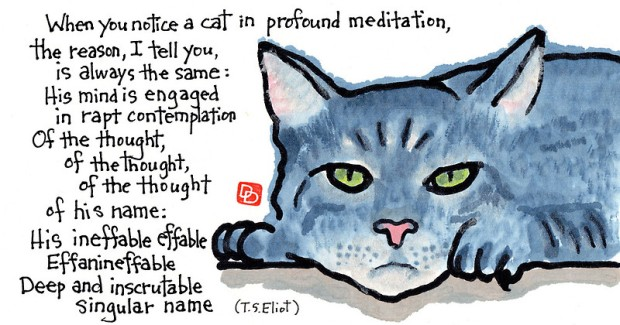 """The Naming of Cats"" by Dosankodebbie (click thru to see more)"