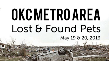 OKC Metro Area Lost & Found Pets