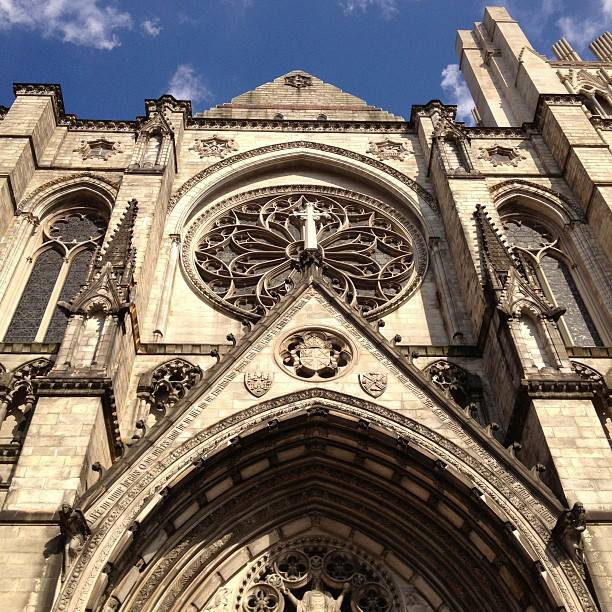 After The Cloisters, we went to see the Cathedral of St. John the Divine, the largest cathedral in the world.