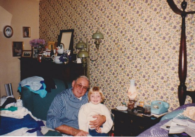 Granddaddy and my cousin, Crystal. I took this photo when I was around 12 or so, with a new 35mm camera that he'd just bought me. His love of taking photos was the beginning of me taking snapshots of anything and everything in my life.