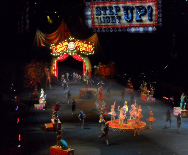 In 2010, I took a few of my best friends to see the circus in Chicago.
