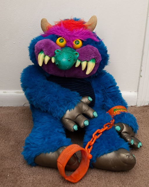 Click through to read all about My Pet Monster on artist Jeremy Cardarelli's blog, ScribbleTrix.