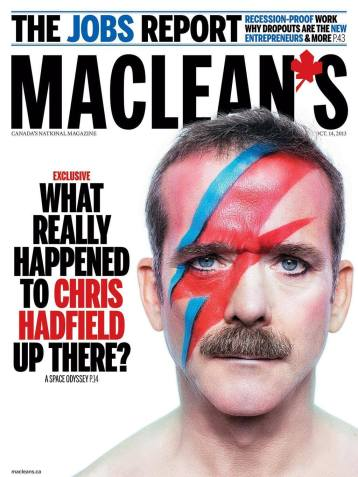 Col. Chris Hadfield is a total rockstar, too!