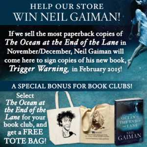 Click through to find out how you can help bring Neil Gaiman to New Orleans!