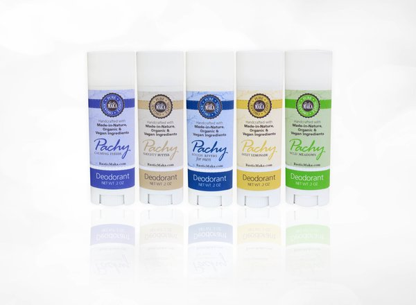 Patchy Deodorant by Rustic Maka (sample sizes)