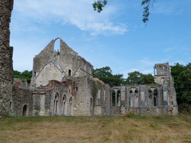 Netley Abbey, via Countryside Tales. Weird, but this looks extremely similar to my daydream structure.