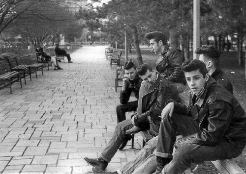 Greasers in NYC, 1950
