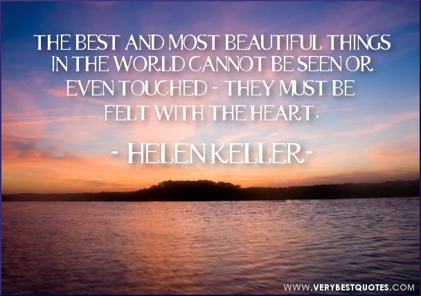 Helen Keller Quotes About Beauty